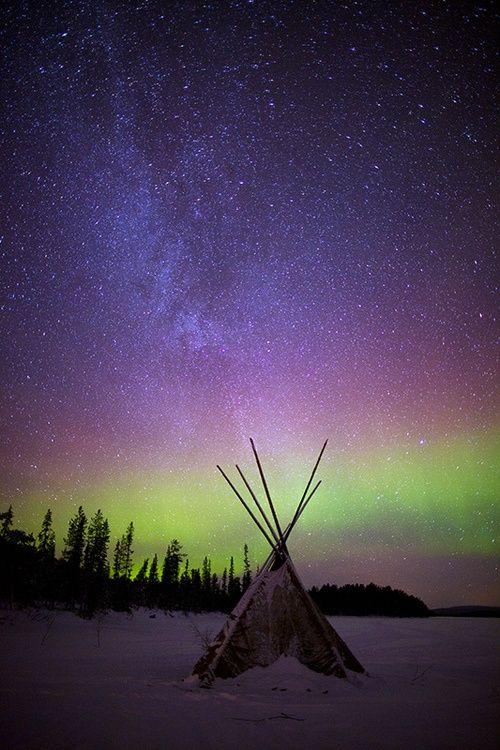 Muonio, Lapland, The Aurora Zone