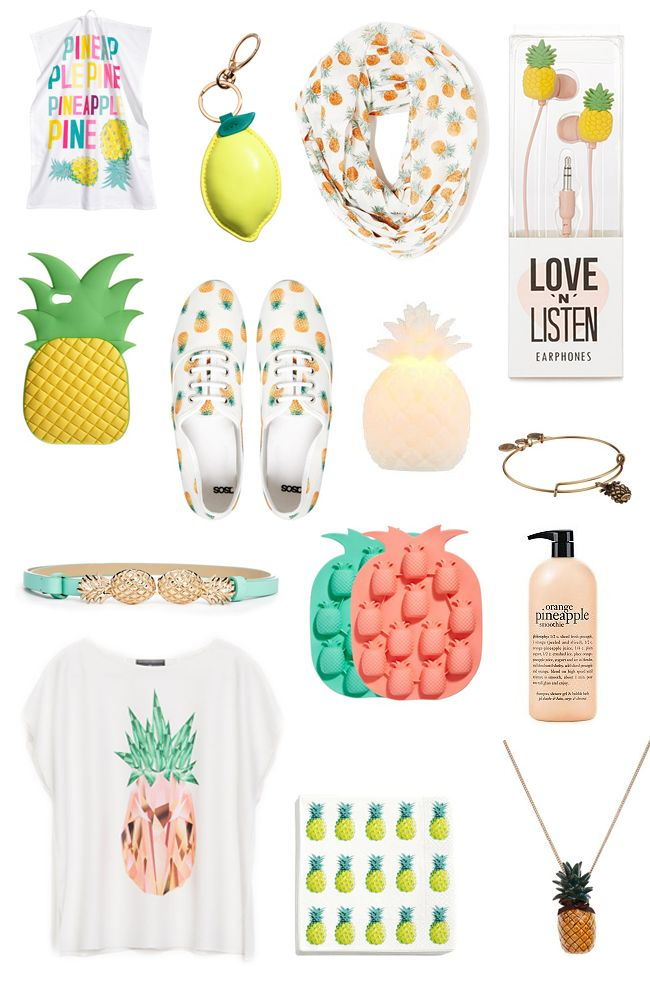 let's get fruity | pineapple style (heart of chic)