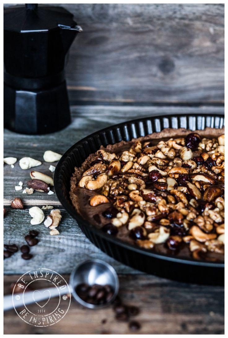 food photography, nut tart, cake, tarta orzechowa, jedzienie, inspiracja