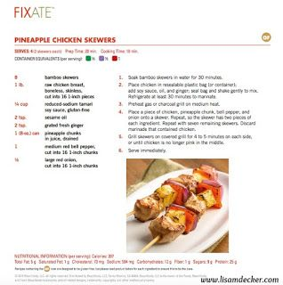 21 Day Fix FIXATE Cookbook  GIVEAWAY