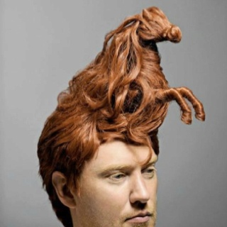 Fantastic 1000 Images About Weird Hairdos On Pinterest Crazy Hair Avant Hairstyles For Men Maxibearus