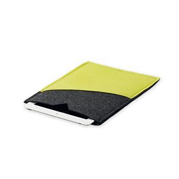 93490 Kit filt cover Ipad 28x21cm grå/lime