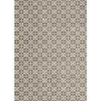 Ruggable Floral Tiles Rich Grey and White 5 ft. x 7 ft. Pet Friendly 2-Piece Washable Area Rug System 93665 at The Home Depot - Mobile
