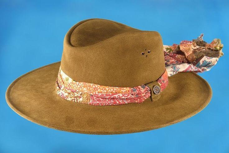 Fallen Broken Street - The Astral Traveller  Suede Hat