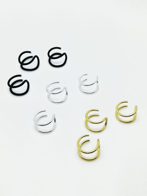 Fake Nose Rings, Fake Nose Piercing, Fake Nose Stud, Nose Hoop, Ring Hoop, No Piercing Needed, Punk Jewelry, Upper Ear Cuff, NuGoth, Unisex by WiredInParis on Etsy https://www.etsy.com/listing/189837184/fake-nose-rings-fake-nose-piercing-fake