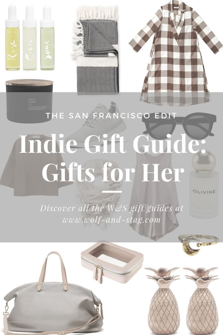 Gifts for Her: a holiday gift guide featuring the best of independent designers, makers and shops from San Francisco | beauty, fashion and interiors christmas gifts for her | Wolf & Stag