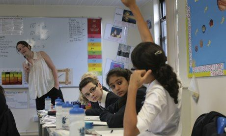 When evaluating a lesson, candidates must show that they can be self-critical, but also recognise when things go well.  Photograph: Martin G...