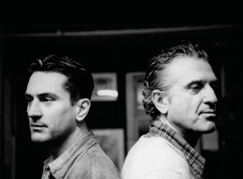 Robert De Niro and his father Robert De Niro Sr.
