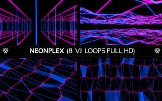 NeonPlex VJ Loops