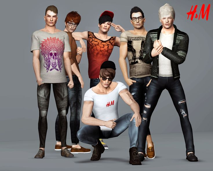 H m men s collection sims character pinterest for Gimnasio 9 y 57