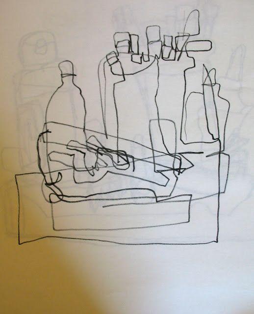 Adventures of an Artist Teacher: Contour Line Drawing