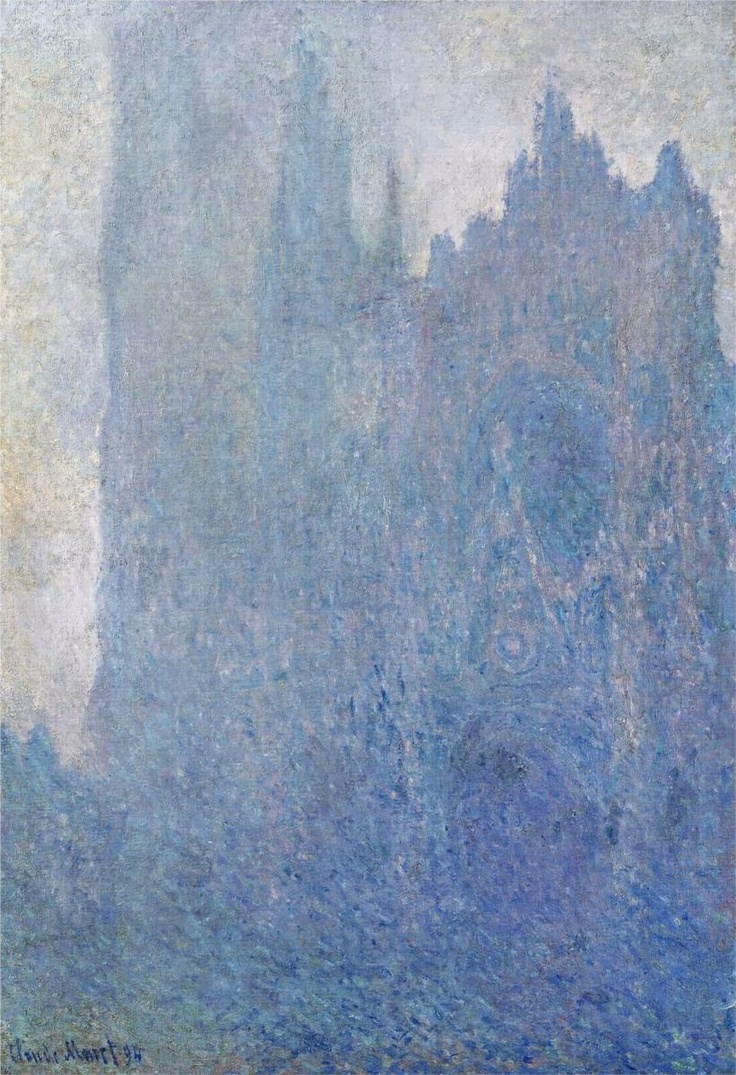 "Claude Monet ""Rouen Cathedral in the Fog, 1894"""