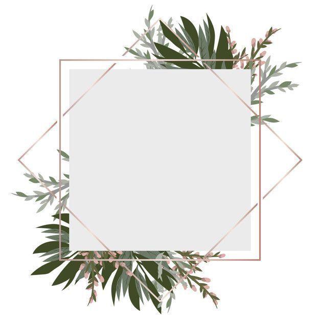 Isimsiz In 2020 Flower Frame Flower Background Wallpaper Vector Flowers
