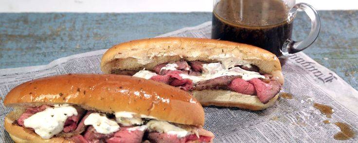 French Dip Sandwich with Horseradish Sauce Recipe Recipe | The Chew - ABC.com