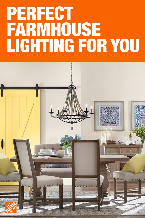 The Home Depot Has Everything You Need For Your Home Improvement Projects Click To Learn More And Shop Available Farmhouse Style Lighting Bungalow Decor Home