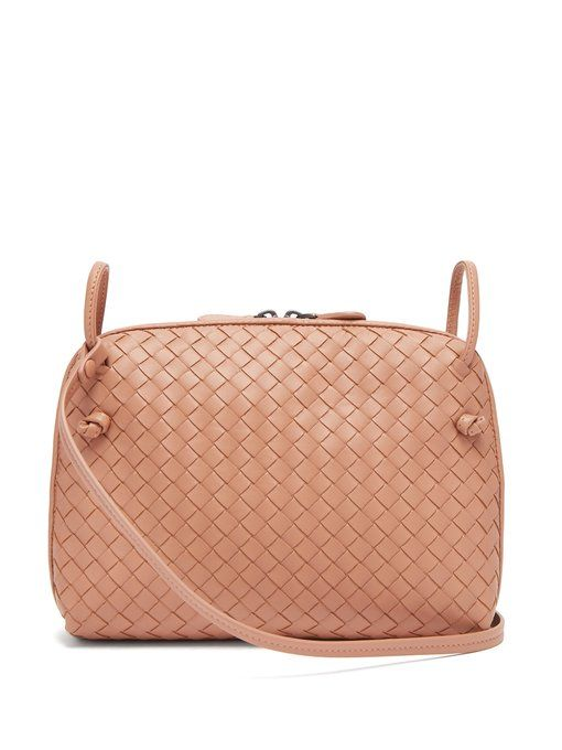 8942c8770ce3 Bottega Veneta Nodini small Intrecciato leather cross-body bag ...