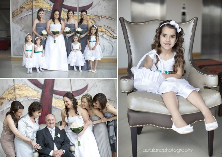 Bridesmaids dresses from Bride&co. Click to view more from Michael & Odette's Real Wedding.