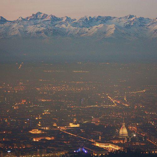 Turin, vue du Parco della Rimembranza