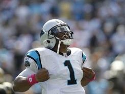 Cam Newton- Carolina Panthers- Rookie of the Year