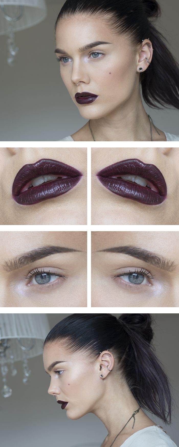 Jag har använt/I've used Da vinci mineral eyeshadow
