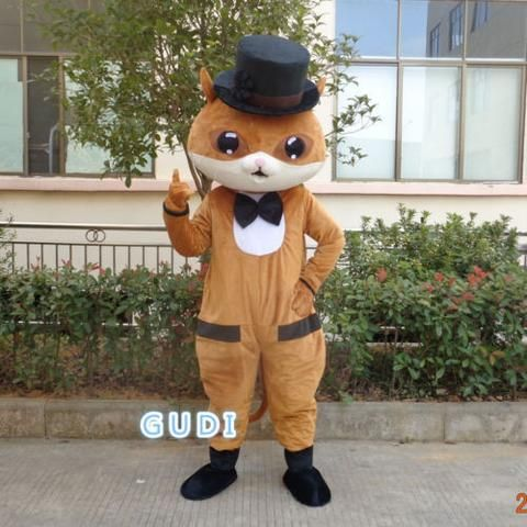 HOT Mr Cat cartoon mascot costumes Halloween party adult size, free shipping