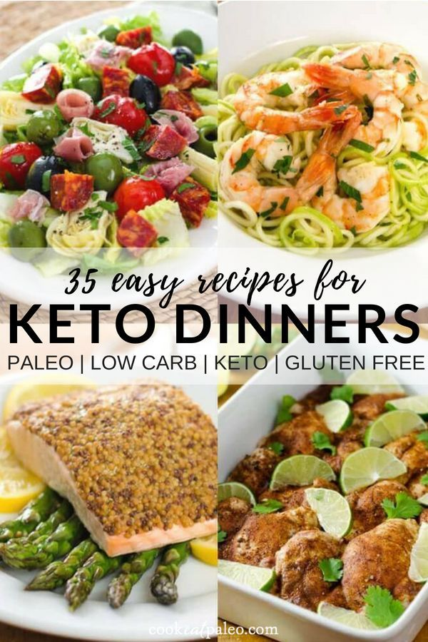 35 Easy Keto Dinner Recipes Keto Dinner How To Eat Paleo Low Carb Meal Plan