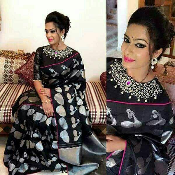 Pattern on corduroy material work of sari or bead work