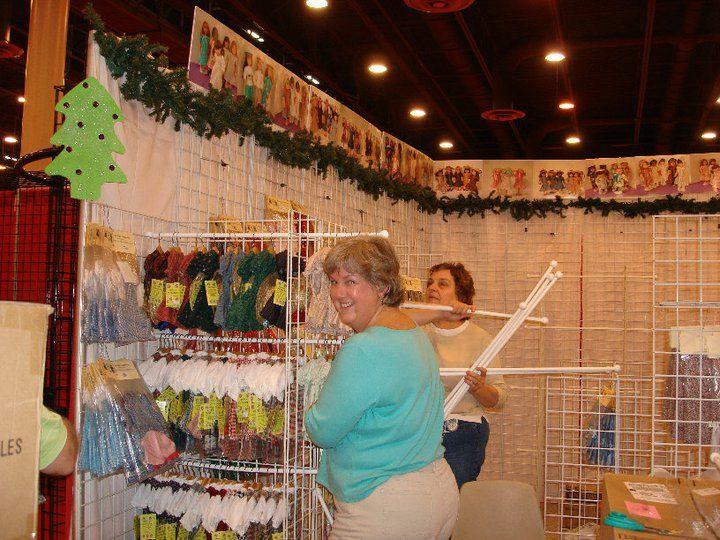 Doll Clothes Display Craft Fair