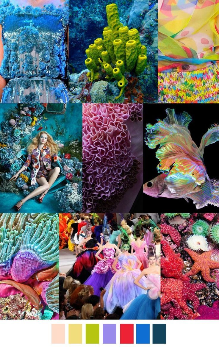 S/S 2017 colors & patterns trends: WILD OCEAN