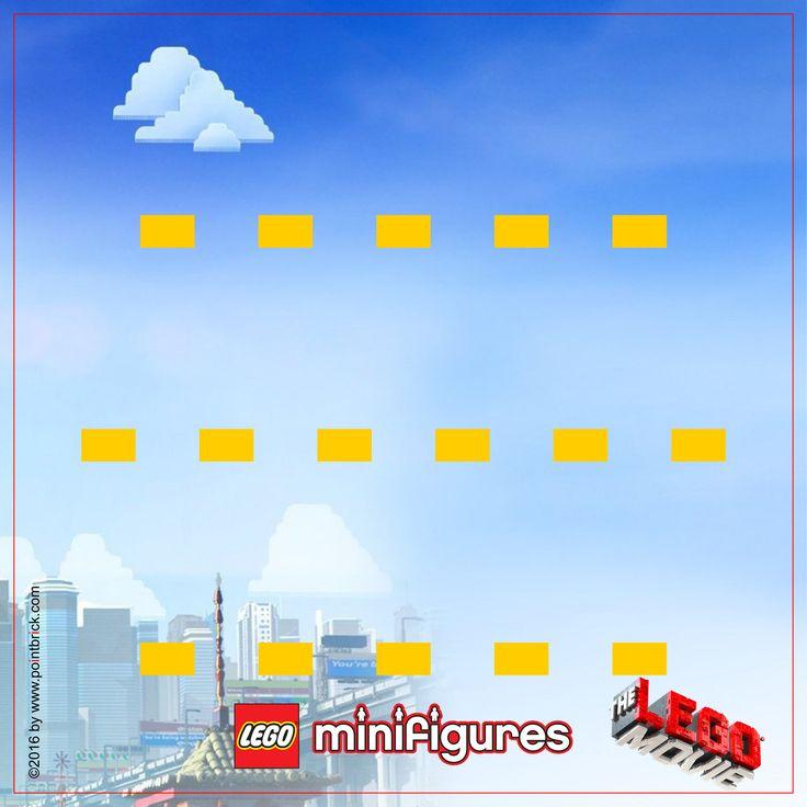 LEGO Minifigures 71004 Serie The LEGO Movie  - Display Frame Background 230mm - Clicca sull'immagine per scaricarla gratuitamente!
