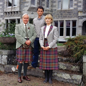Monarch of the Glen - the beauty of Glenbogle, wonderful cast and Alastair MacKenzie was good eye candy as well!