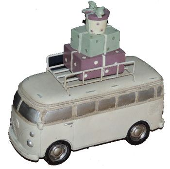 "Christmas Bus Ornament, Made From Wood  Item Number: CH2014B Price: $50.00 Made from wood and painted nice colors roof rack is metal painted the size is 9"" X 9"" high. Get it today while last. #aircooled #combi #1600cc #bug #kombilovers #kombi #vwbug #westfalia #VW #vwlove #vwporn #vwflat4 #vwtype2 #VWCAMPER #vwengine #vwlovers #volkswagen #type1 #type3 #slammed #safariwindow #bus #porsche #vwbug #type2 #23window #wheels #custom #vw #EISPARTS"