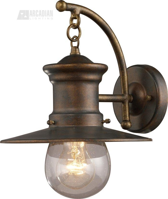 Even though this is an outside light, I think it would look great indoors, maybe paired as wall sconces.