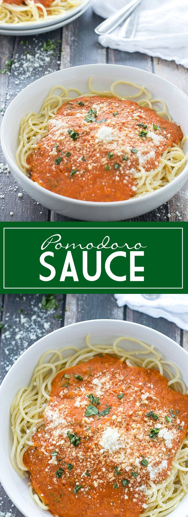 An easy and delicious recipe for Pomodoro Sauce | www.motherthyme.com