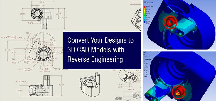Convert Your Designs to #3D #CAD Models with Reverse Engineering