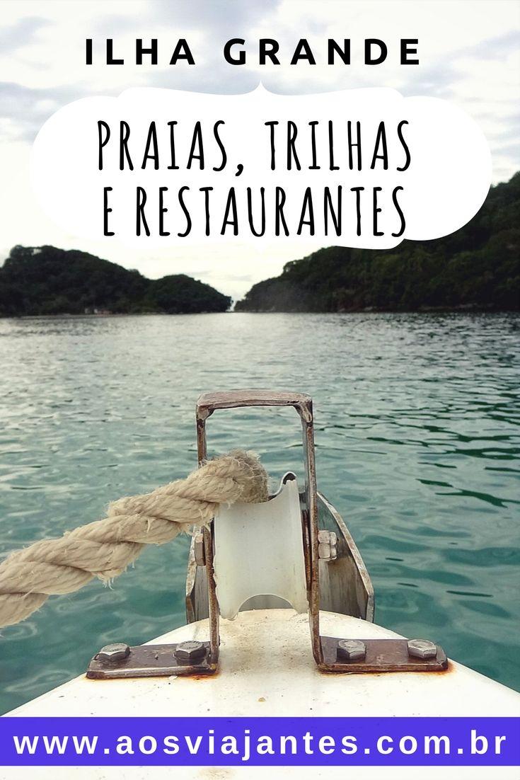 A Ilha grande é um paraíso do Rio de Janeiro localizado na região de Angra dos Reis.  Há muito o que fazer na Ilha Grande e para todos os gostos: Casais ou viagem solo, trilheiros, praieiros, gente que quer acampar, gente que quer ficar em pousadas, mergulhar, etc, etc.  Vou te mostrar uma ideia do que fazer na Ilha Grande, além de dicas para você mostar seu roteiro e restaurantes interessantes a conhecer.