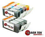 Canon PGI-225BK & CLI-226 Value Pack of 6 Ink Cartridges: 2 PGI225, 1 each