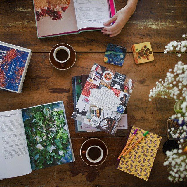 A little recipe inspiration session before the weekend stops us returning from the markets with only coffee and cake.
