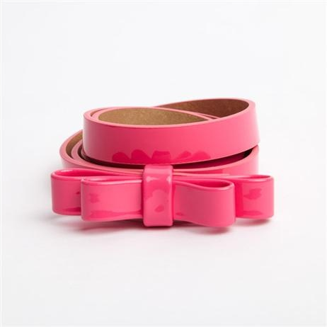 Milk & Soda Blair Bow Belt - Pink    Price: $22.95    Chic patent bow belt – exactly what Blair Waldorf would wear if she was a little girl!!