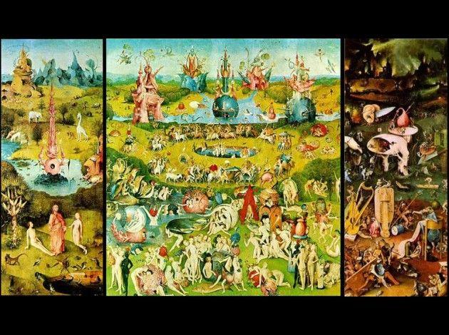 Jérome BOSCH, Le jardin des délices, 1503-1504