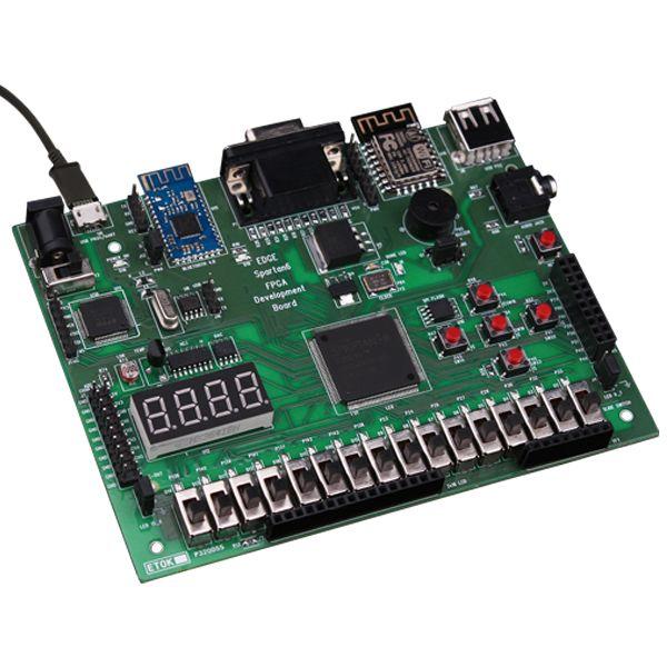 EDGE Spartan 6 FPGA Development board is the feature rich