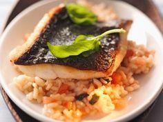 Gemüserisotto mit Fisch ist ein Rezept mit frischen Zutaten aus der Kategorie Risotto. Probieren Sie dieses und weitere Rezepte von EAT SMARTER!