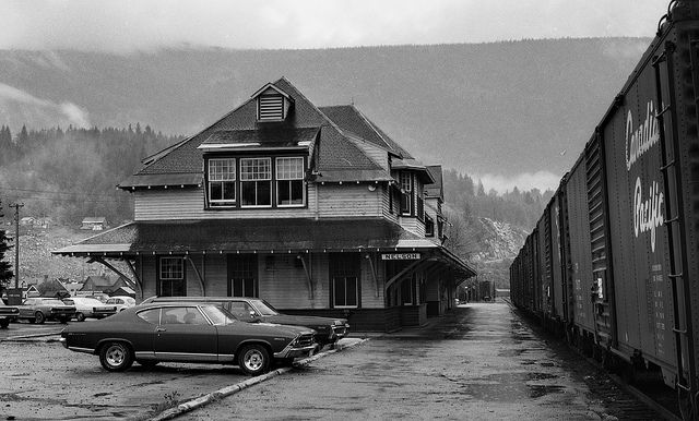 CPR Nelson, British Columbia, Canada | Train Station by R R Horne, via Flickr