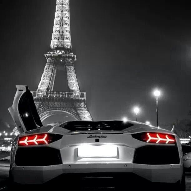 Lamborghini In The City Of Lights Fast Cars