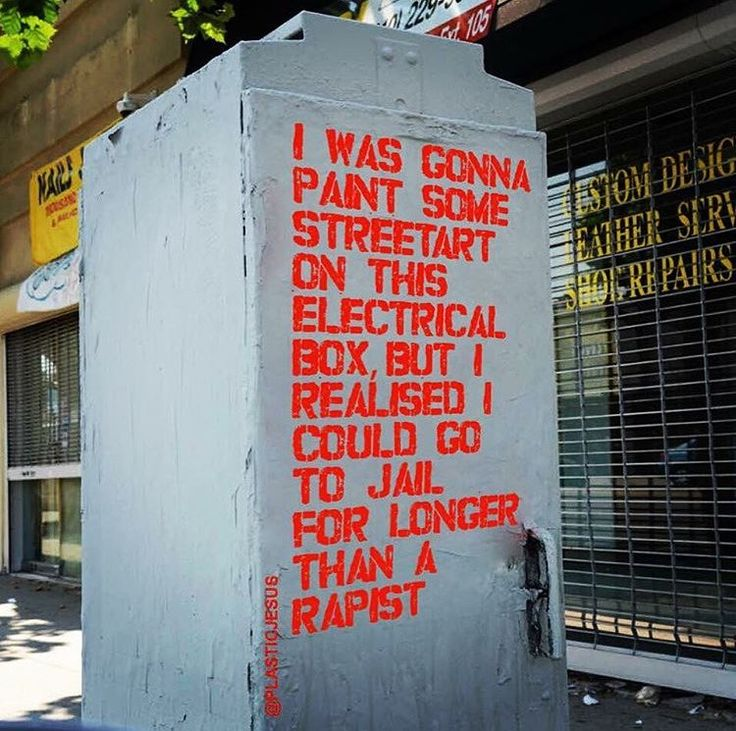 Trending Graffiti Ideas On Pinterest Is Graffiti Art Street - People cant decide if theyre ok with this street artists ironic messages