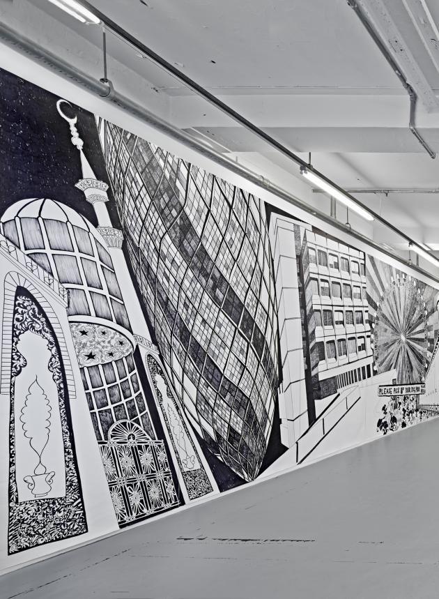 Aleksandra Mir - Drawings