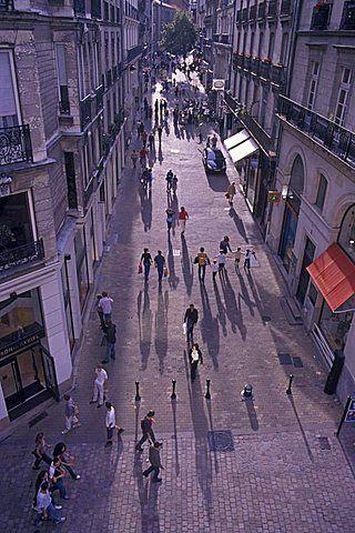 Rue Scribe, Nantes, Pays de la Loire, Loire Atlantique, France, Europe