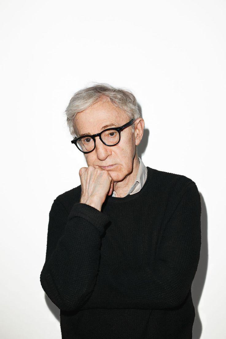 Woody Allen (*1935 in Brooklyn/New York, bürgerlich seit 1952 Heywood Allen). Foto: Terry Richardson. US-amerikan. Komiker, Filmregisseur, Autor, Schauspieler und passionierter Jazzmusiker.