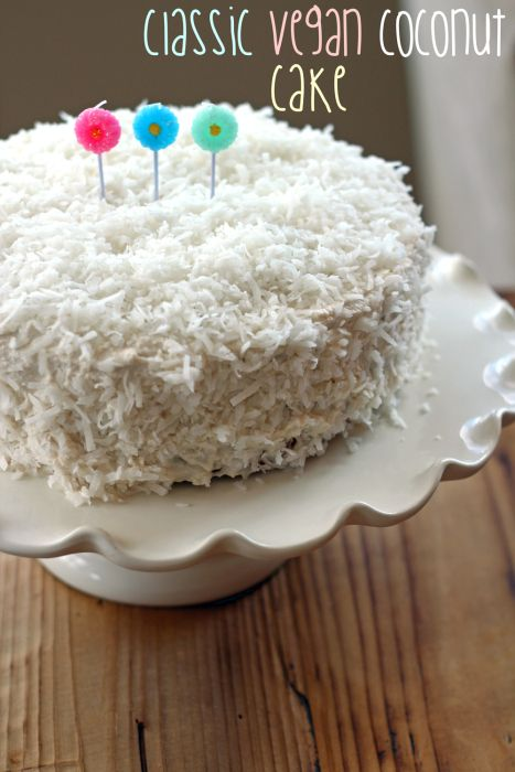 Classic Vegan Coconut Cake | The Fit NutFree Coconut, Desserts, Fit Nut, Vegan Recipe, Vegan Coconut, Classic Vegan, Vegan Baking, Coconut Cakes, Glutenfree Cake