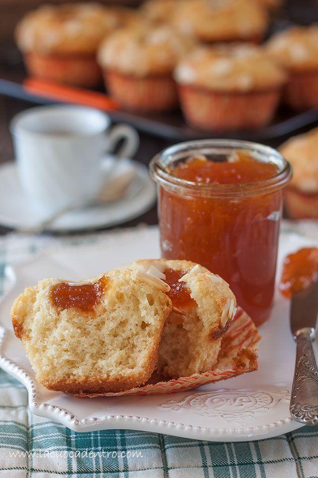 muffin mandorle e albicocche